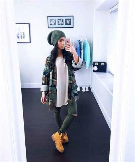 wear timberland boots  trendy girls