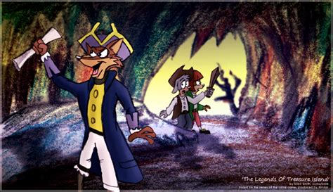 The Legends Of Treasure Island By Freyfox On Deviantart
