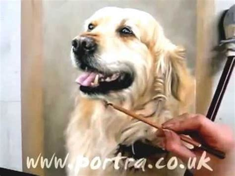 golden retriever speed painting awesome