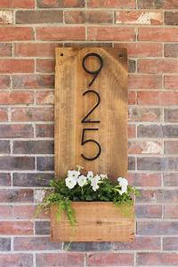 Welcome, Home, Innovative, Diy, House, Number, Signs