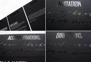 black and wedding invitations modern foil st wedding invitations