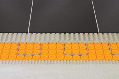 Ditra Tile Underlayment Thickness by Schluter Ditra Heat Ceramic Tile Underlayment Sheets