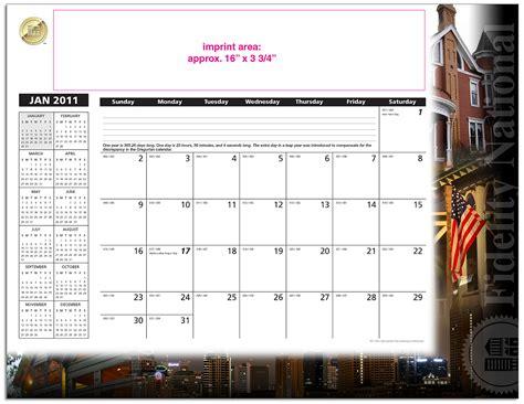 real estate desk calendars fidelity title western region desk pad calendars