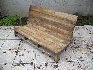 Fabriquer Un Canapé En Palette : fabriquer un canap de jardin en palette david mercereau ~ Voncanada.com Idées de Décoration