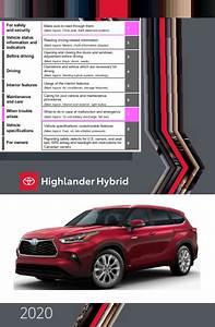 2020 Toyota Highlander Hybrid Owners Manual Free Download