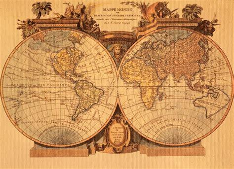 tableau pour chambre b papier peint ancienne carte du monde pixers nous