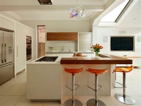 deco cuisine blanche cuisine blanche bois cuisine bois et blanc dans un