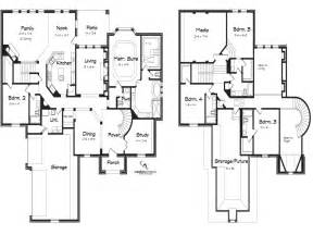 5 bedroom house plans 5 bedroom 2 story house plans loft bedrooms simple two storey house plans mexzhouse