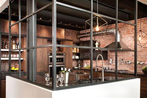 cuisine type industrielle cuisine style design industriel idéal pour loft ou grande