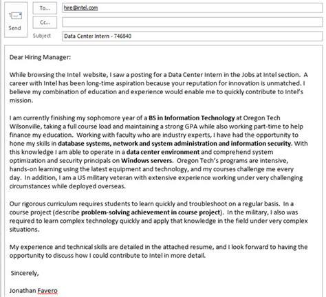 sample position description  cover letter