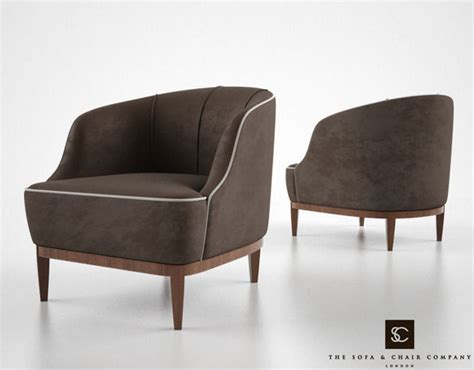 the sofa and chair company lloyd armchair 3d model max