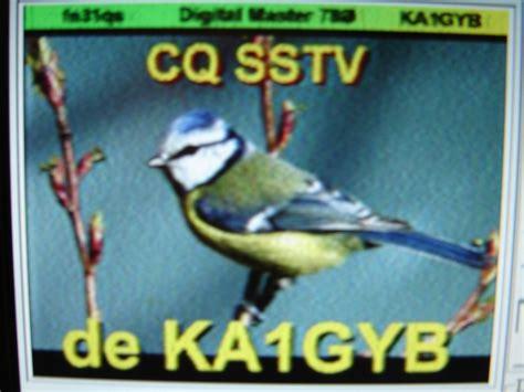 SSTV - Slow Scan Television