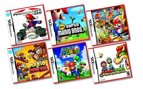 Ds Lite Drops To 99 In Us Mario Ds Games Go Red
