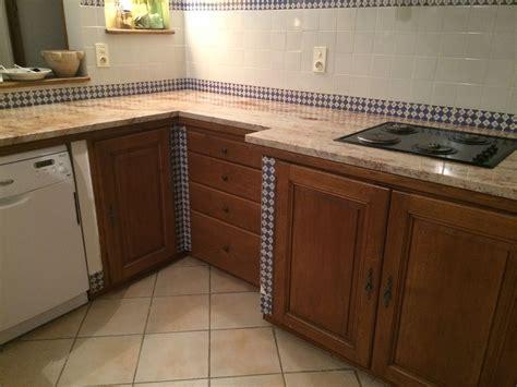 renovation cuisine plan de travail rénovation d 39 un plan de travail de cuisine en granit à aix