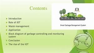 Garbage Monitoring System Iot