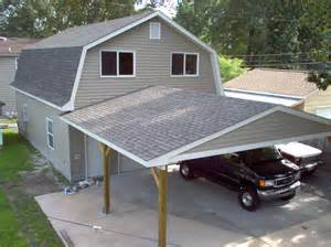 24 X 36 Garage with Barn Style Roof