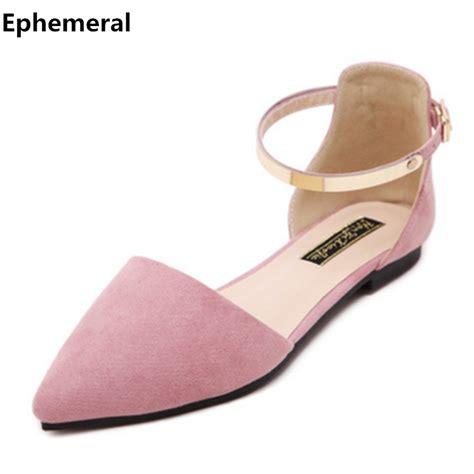 ladies elegant shoes flat sandals  strap femmes