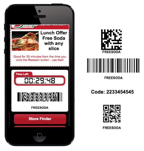 mobile promotions digital experience platform mobile coupons