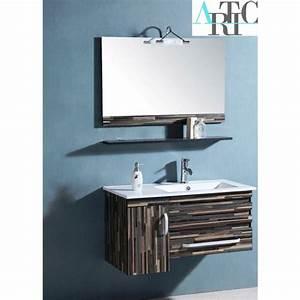 ensemble de salle de bain nerja meuble salle de bain une With porte d entrée pvc avec meuble vasque salle de bain 55 cm