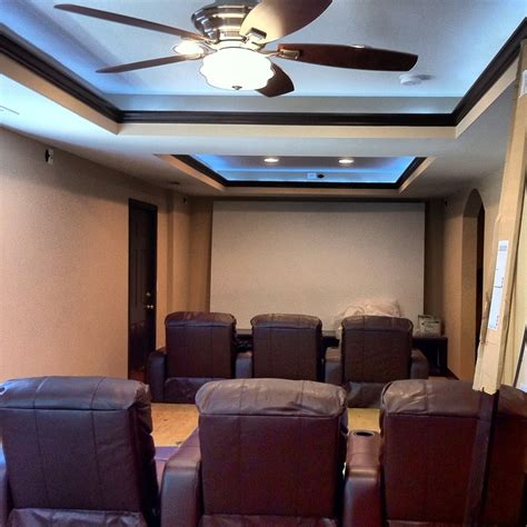 indirect lighting ceiling fan recessed lights home