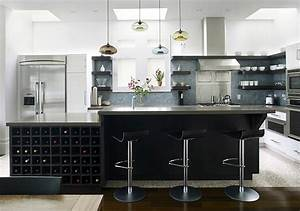 Remodelista june 2009 terra and aurora pendants on the for Kitchen cabinet trends 2018 combined with blown glass flower wall art