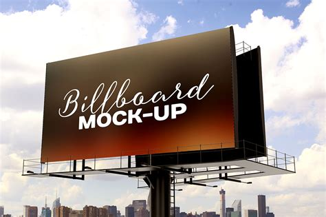 billboard mockup template dealjumbocom discounted