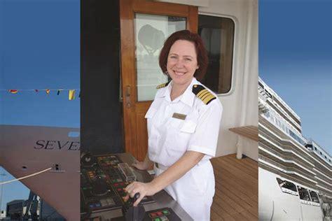 captain serena melani female captain deliver cruise