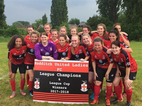 Redditch United Ladies complete divisional double - SheKicks