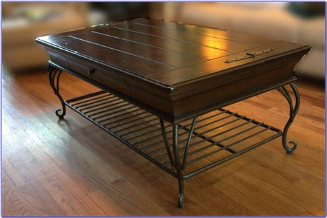 iron and wood coffee tables 30 best collection of wrought iron coffee tables 7584