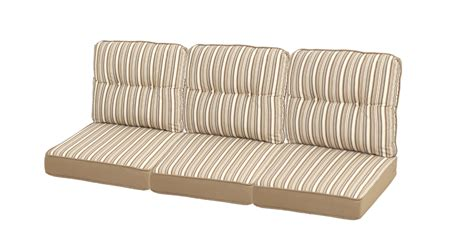 ty pennington patio furniture cushions ty pennington style mayfield replacement 3 seat patio sofa