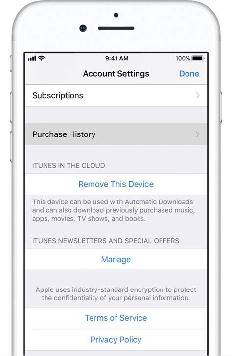purchase history   app store  itunes store
