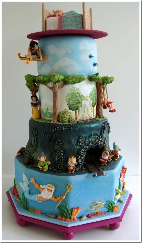 disney princess birthday cake delightful dreaming of disney cake between the pages Awesome