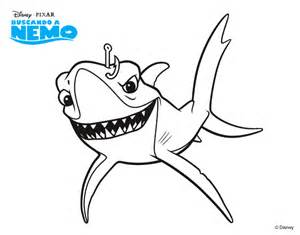 finding nemo bruce coloring pages finding nemo chum coloring page - Finding Nemo Coloring Pages Bruce