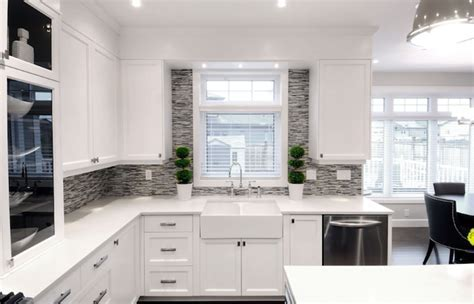White and gray kitchen, kitchen colors with white cabinets