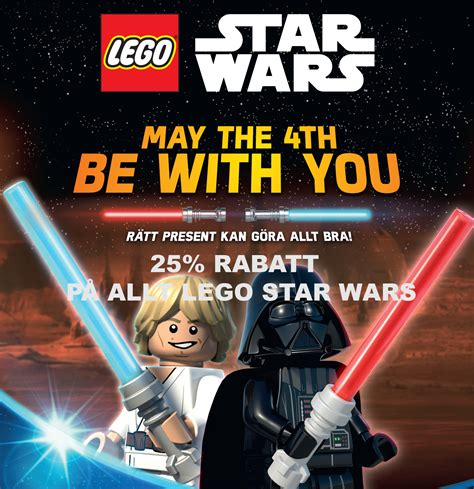 SkaViLeka.se: LEGO Star Wars - May the 4th be with you...