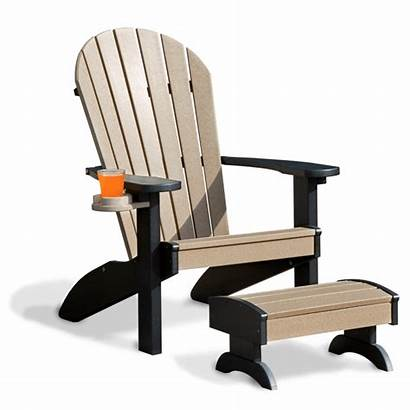 Adirondack Classic Wood Furniture Weathered Patio Chair