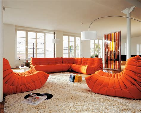 canapé contemporain ligne roset 40 years of togo and still going design