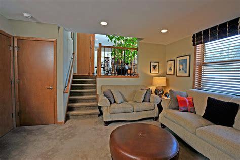 split entry home plans 1960 39 s brookfield family room remodel sj janis