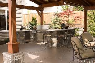 kitchen outdoor ideas outdoor kitchen ideas for small space homes gallery