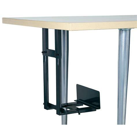 montage de bureau support pc pour un montage sous le bureau noir noir iph002 b vente support pc pour un montage