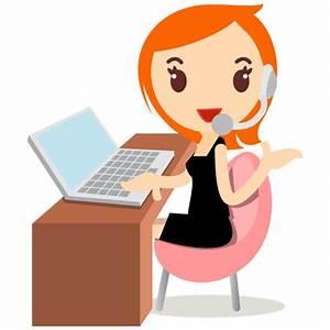 Callcenter girls orange Icon | Callcenter Girls Iconset ...