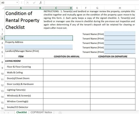 tenant rental checklist propertyguiding rental property inspection walkthrough checklist by chartlook Landlord