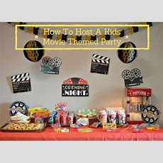 How To Host A Kids Movie Themed Party  Jays Sweet N Sour Life