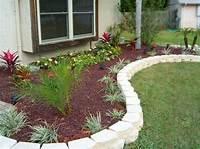 flower bed edging The Value of Garden Edging   Ortega Lawn Care