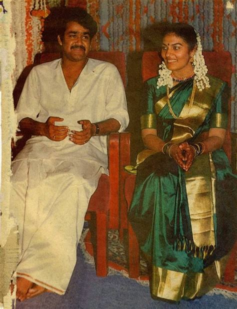 mohanlal married  suchitra rare  malayalam