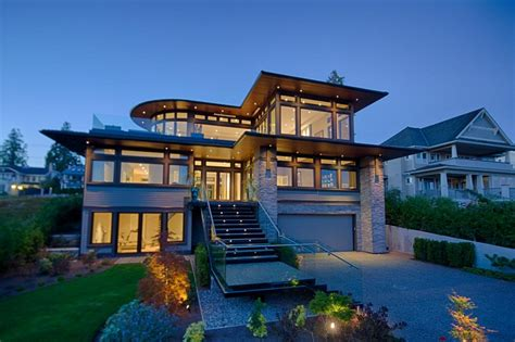 Large Contemporary Modern Homes  Contemporary Modern