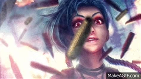 League Of Legends Animated Wallpaper Gif - jinx animation animated wallpaper fan league of