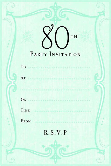 birthday invitation templates  sample