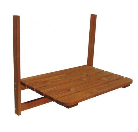 stolik ogrodowy podwieszany naturalne drewno stol