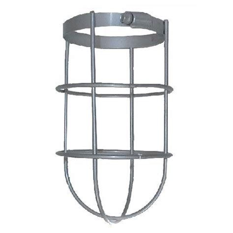 rab lighting gd100cl wire cl guard silver gray energy